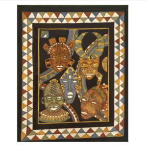 Hand Painted Textiles from Africa